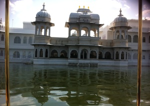 Front of Lake Palace